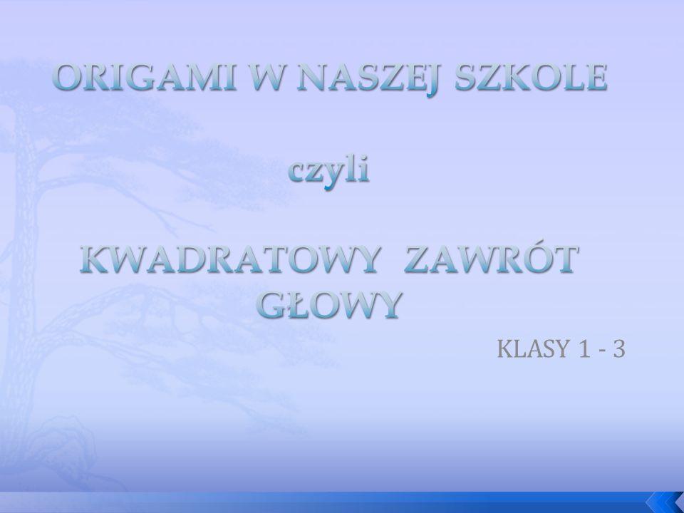 KLASY 1 - 3
