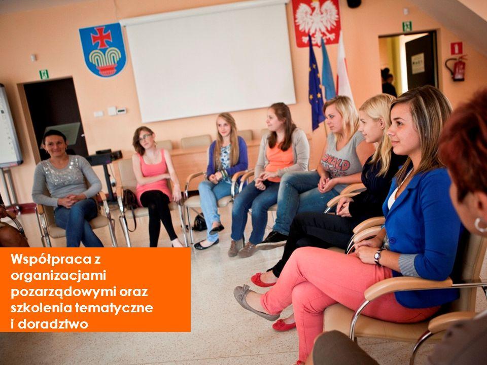 Współpraca z organizacjami pozarządowymi oraz szkolenia tematyczne i doradztwo