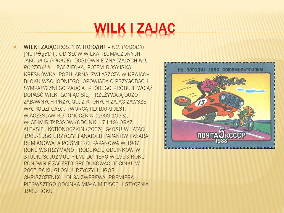 WILK I ZAJĄC (ROS.