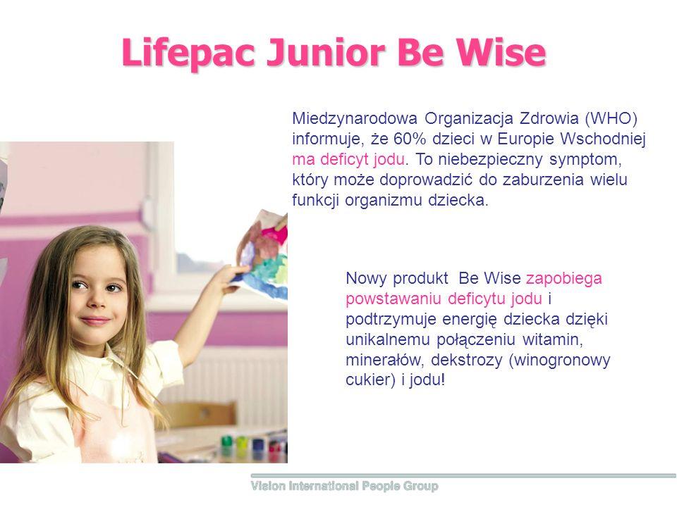 Lifepac Junior Be Wise Miedzynarodowa Organizacja Zdrowia (WHO) informuje, że 60% dzieci w Europie Wschodniej ma deficyt jodu.