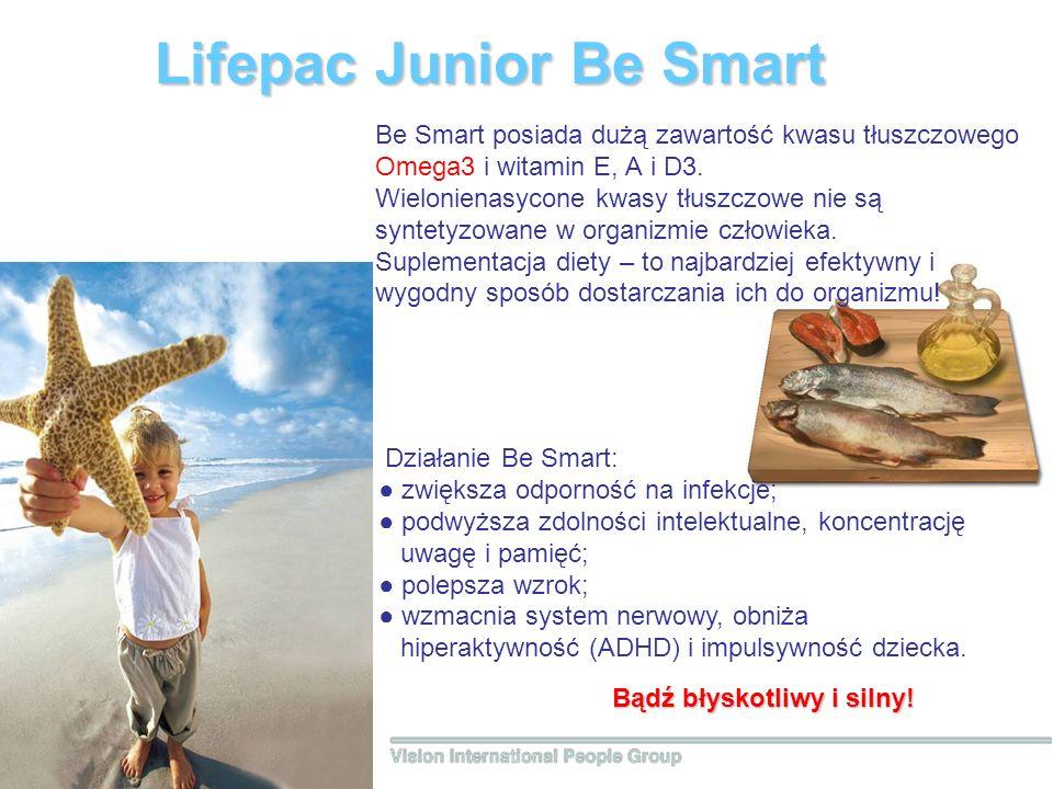Lifepac Junior Вe Smart Bądź błyskotliwy i silny.