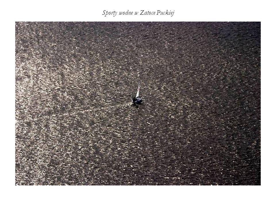 Sporty wodne w Zatoce Puckiej