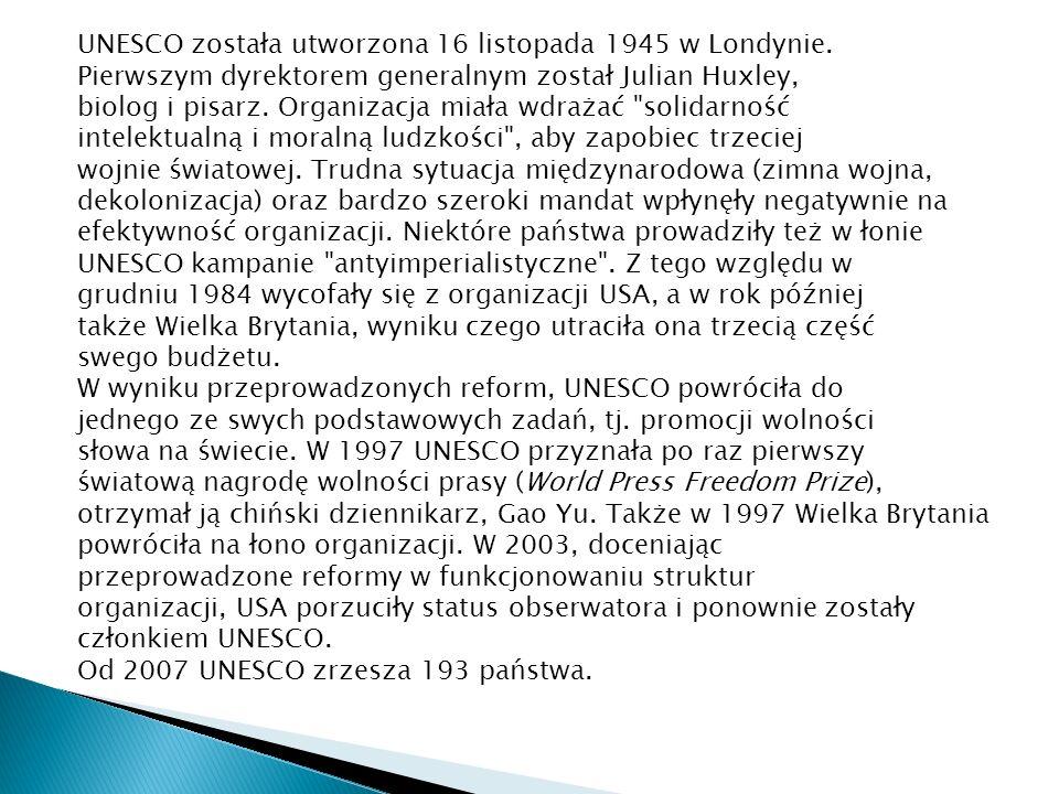 Polska jest jednym z pierwszych państw – sygnatariuszy Konwencji dziedzictwa światowego i jednym z czołowych reprezentantów na Liście Światowego Dziedzictwa.