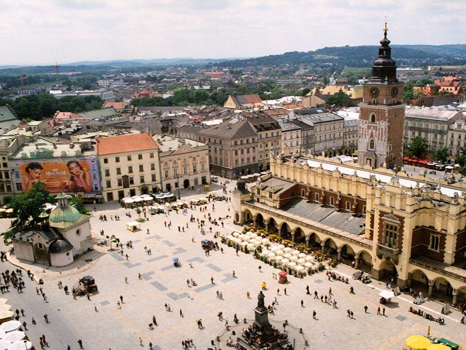 Kopalnia soli kamiennej, w Wieliczce pod Krakowem.