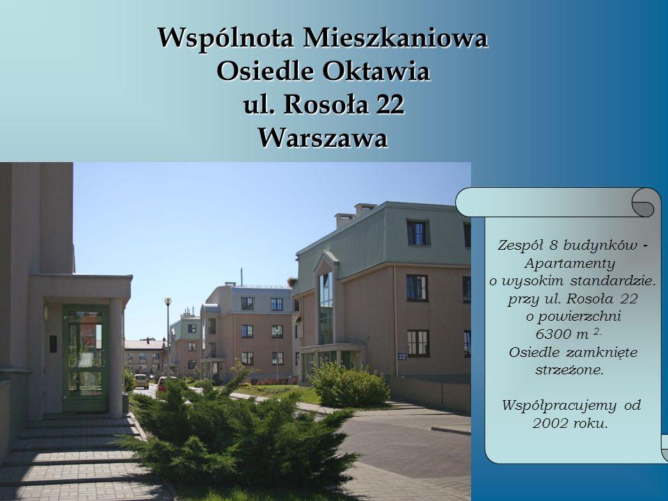 Wspólnota Mieszkaniowa ul.Ursynowska 40 Warszawa Budynek przy ul.