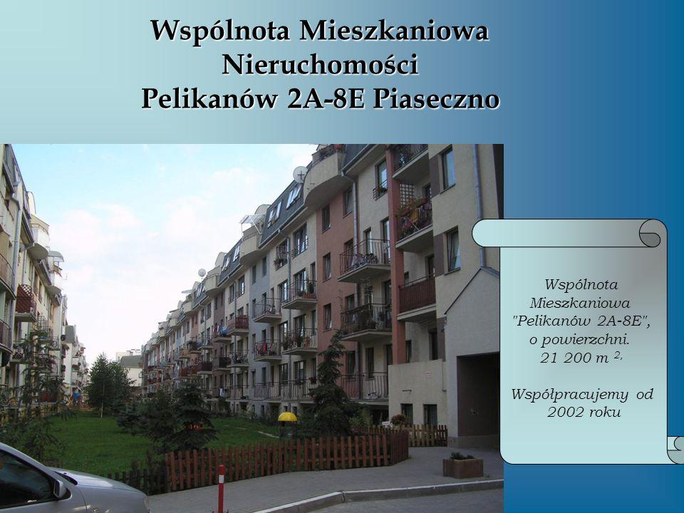 Wspólnota Mieszkaniowa Nieruchomości Pelikanów 2A-8E Piaseczno Wspólnota Mieszkaniowa