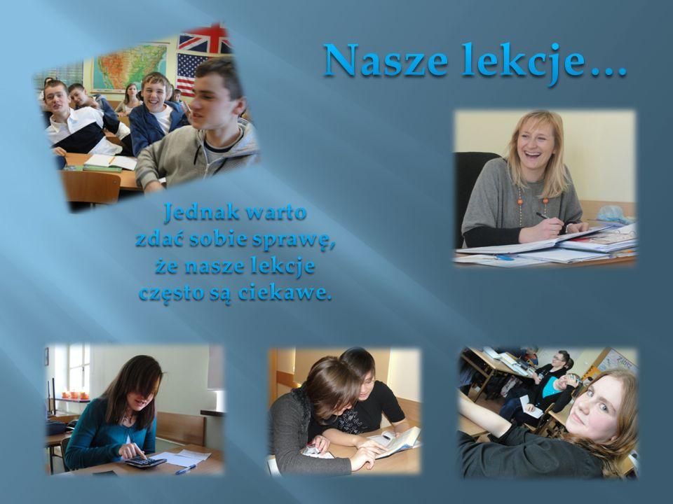 Nasze gimnazjum uczestniczy w projekcie Ad maiora natus sum – podniesienie jakości usług edukacyjnych w Katolickim Gimnazjum i Katolickim Liceum Ogólnokształcącym w Łomży W ramach projektu realizowane są zajęcia z: Bloku językowego (jęz.