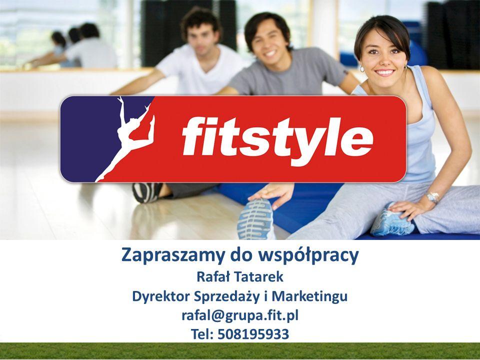 Założenia organizacji konwencji Zapraszamy do współpracy Rafał Tatarek Dyrektor Sprzedaży i Marketingu rafal@grupa.fit.pl Tel: 508195933