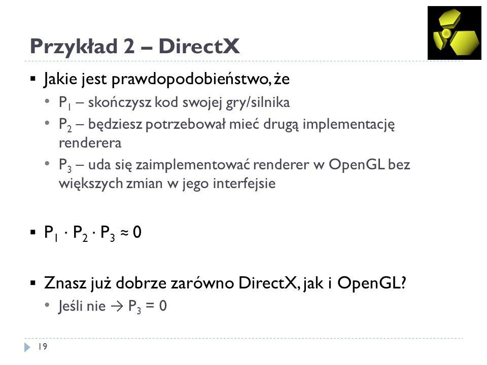 Przykład 3 – WinAPI i MFC 20 Ktoś w Microsoft: WinAPI jest niefajne, bo jest strukturalne.
