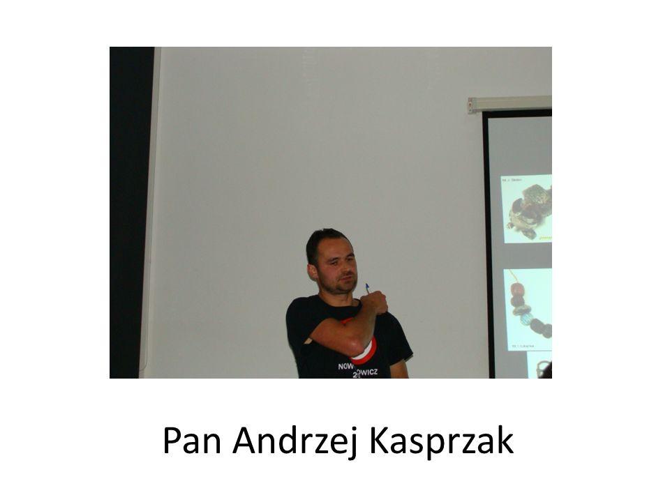 Pan Andrzej Kasprzak