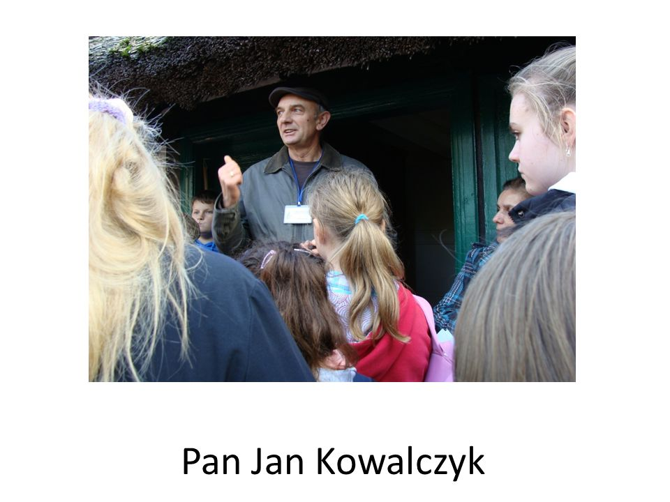 Pan Jan Kowalczyk
