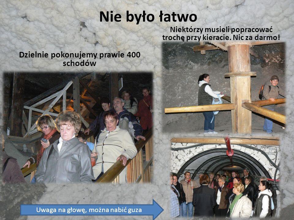 Ciekawostki Zwierzęta w kopalni Źródła, strumyki, podziemne jeziora Kaplica Św.
