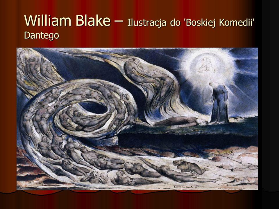 William Blake – Ilustracja do 'Boskiej Komedii' Dantego