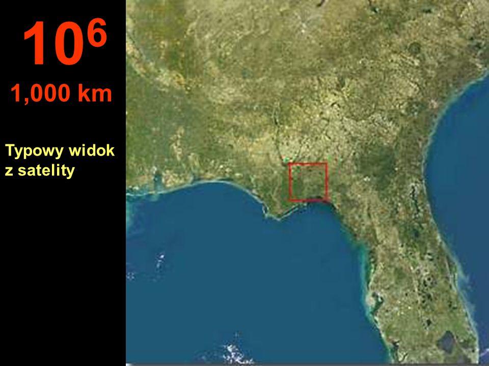 Na tej wysokości, stan Floryda - USA, jest po prostu celem.. 10 5 100 km
