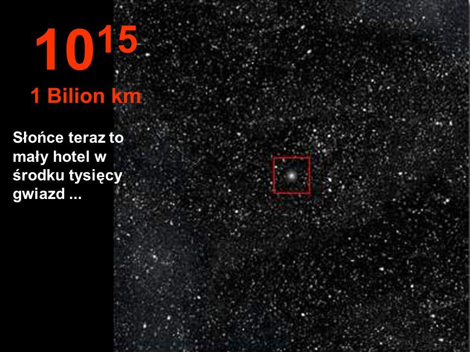 10 14 100 Miliardów km Układ słoneczny zaczyna maleć...