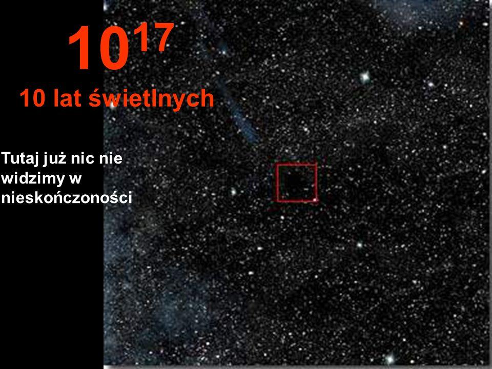 Przy odległości roku świetlnego słońce jest bardzo małe 10 16 1 Rok świetlny