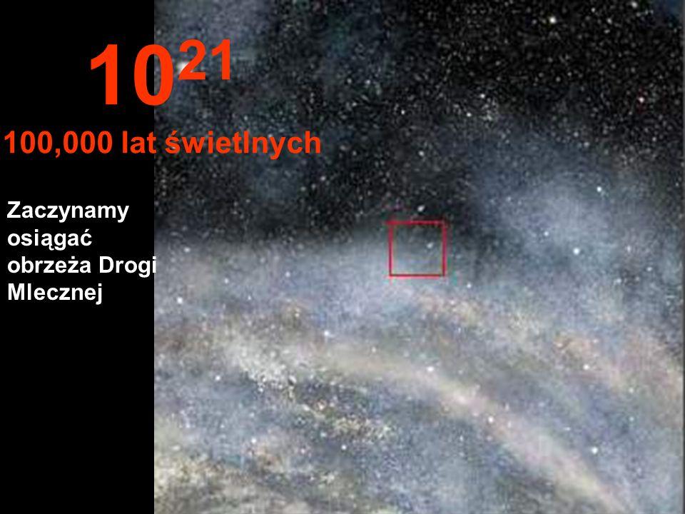 Kontynuujemy podróż na Drodze Mlecznej 10 20 10,000 lat świetlnych