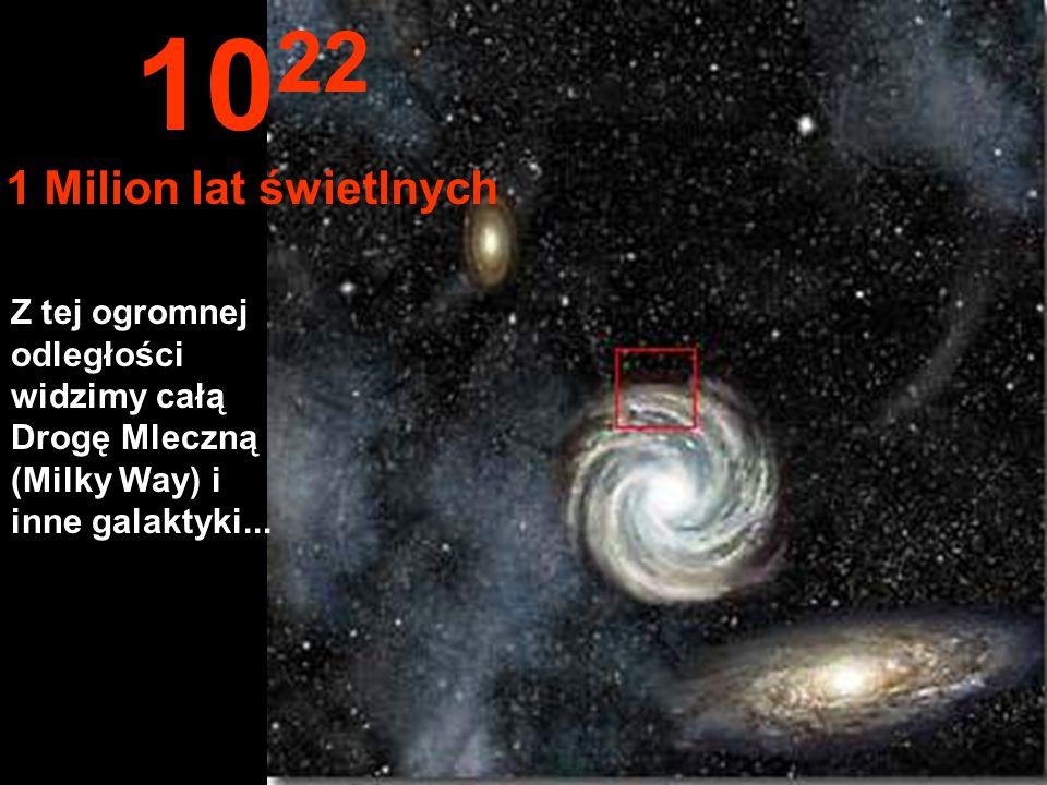 Zaczynamy osiągać obrzeża Drogi Mlecznej 10 21 100,000 lat świetlnych