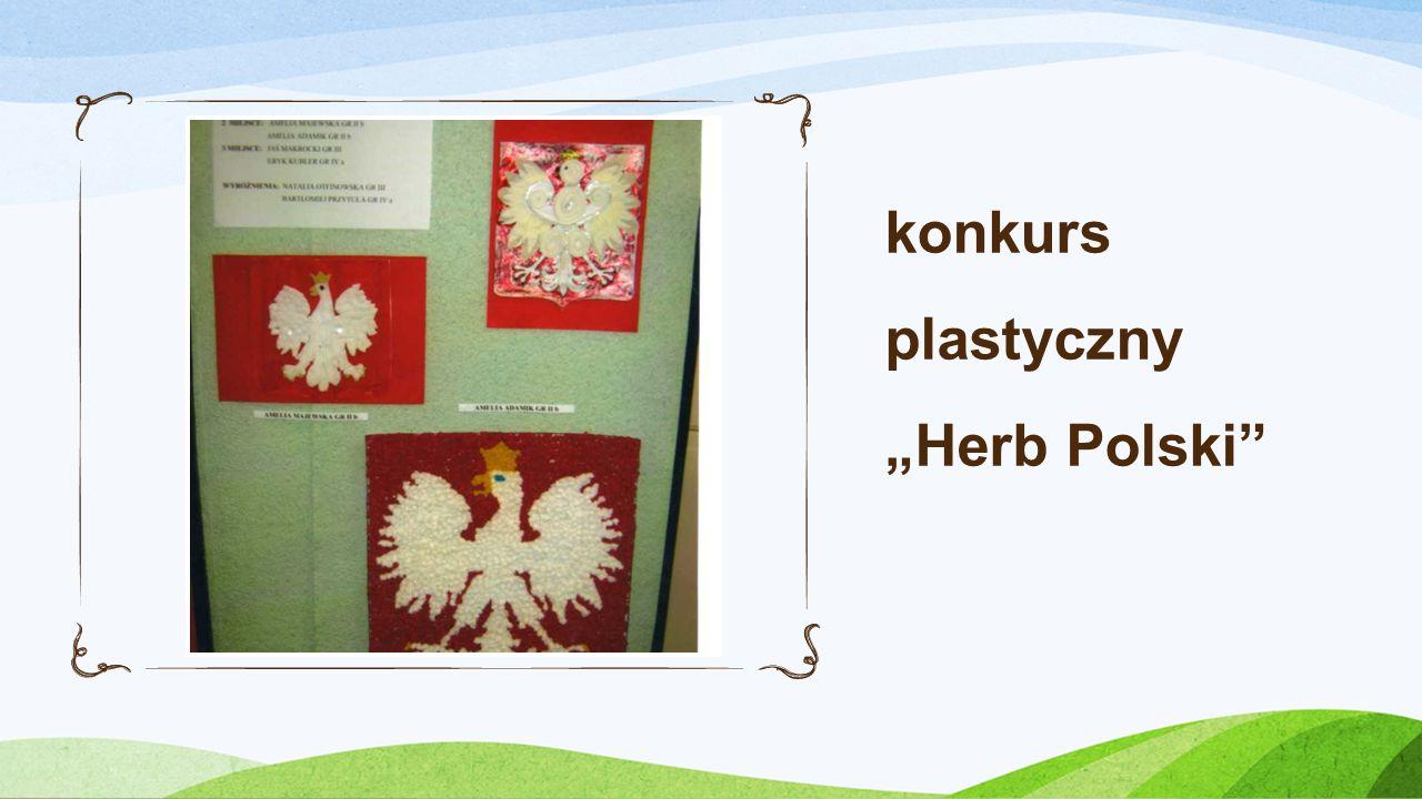 konkurs plastyczny Herb Polski