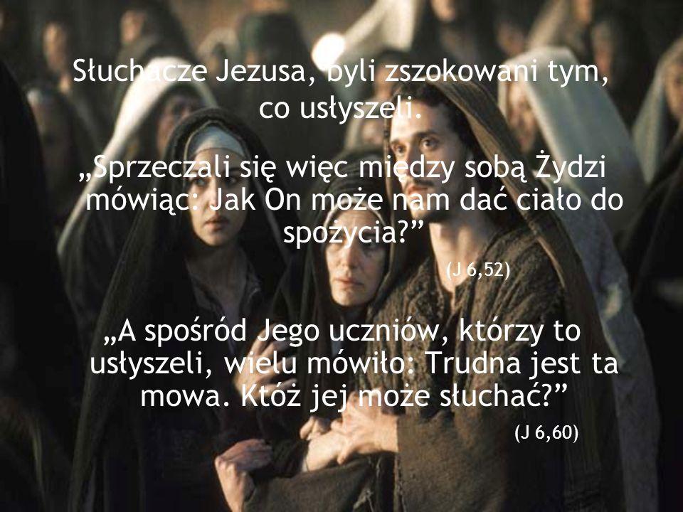 Judasz był jednym z tych, którzy nie uwierzyli w to, co Chrystus do nich mówił. Zdradził Go...