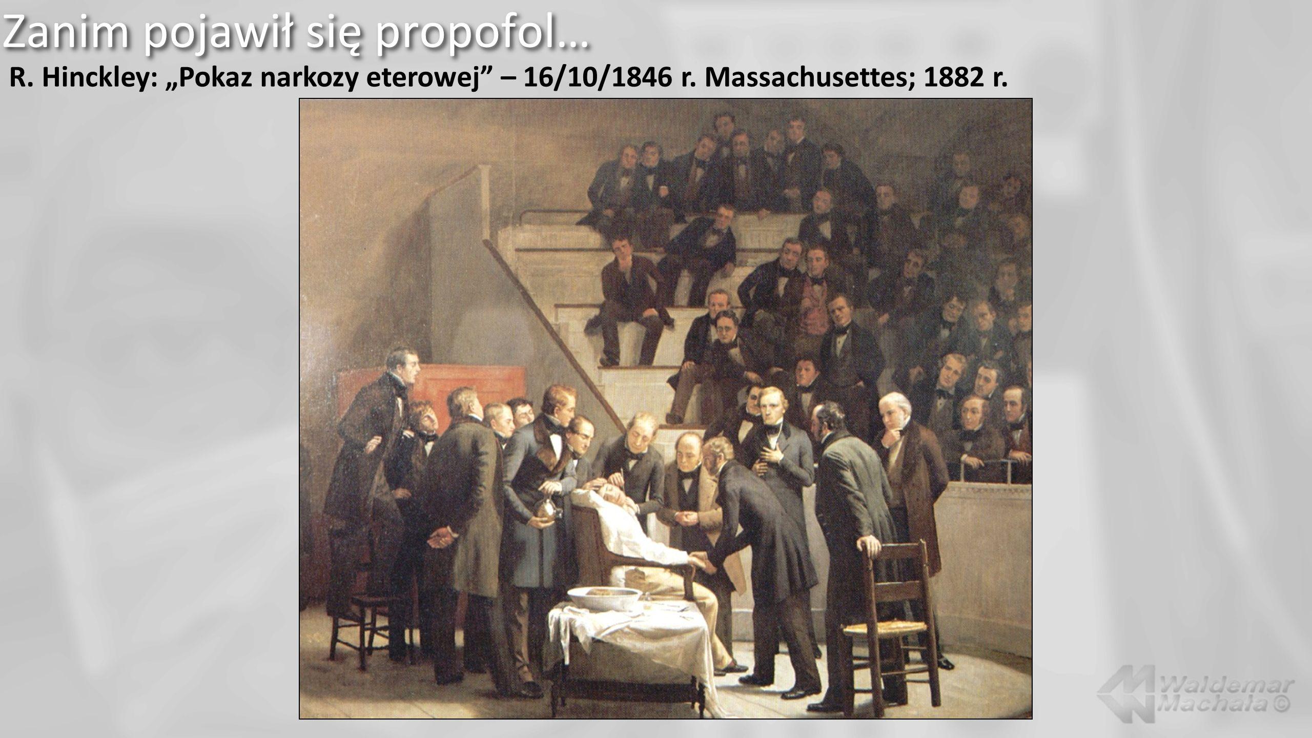 A jak już mamy anestetyki dożylne…, w tym propofol…, to czemu nie tiopental.