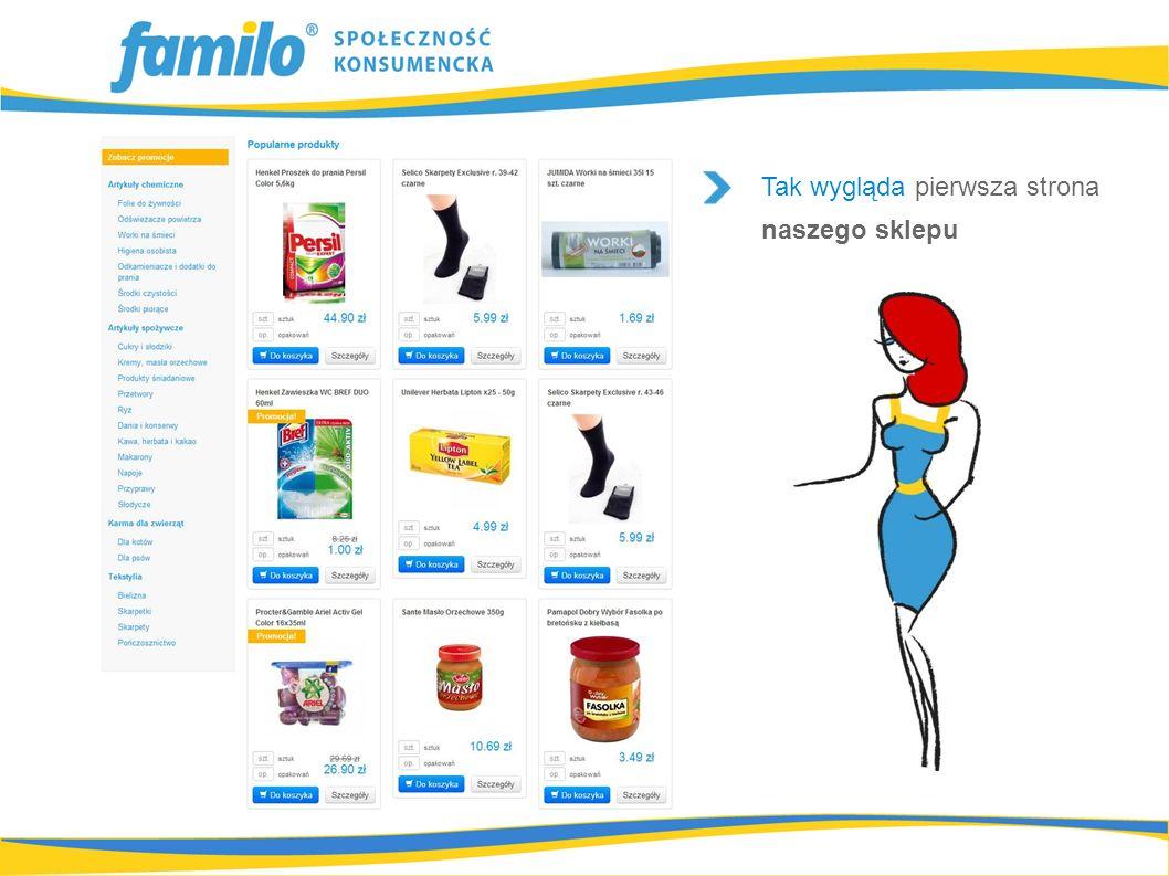 Możesz dodać do koszyka różne produkty z puli codziennego zapotrzebowania