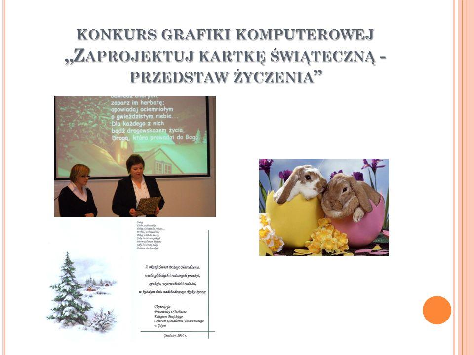 KONKURS LOGO SZKOŁY NA KOSZULKĘ W nagrodzonych koszulkach występowaliśmy na Giełdzie szkół Gdyńskich