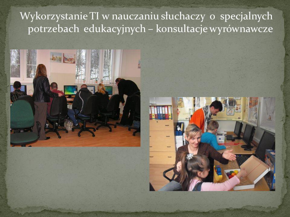 Wykorzystanie komputerów w Internetowym Centrum Multimedialnym biblioteki szkolnej Ogólnodostępny komputer w holu szkoły