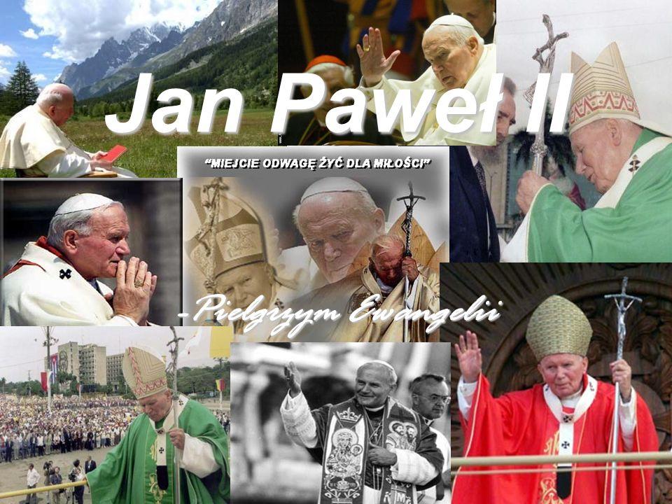 Jan Paweł II Od chwili objęcia stanowiska papież odbył niezliczoną liczbę podróży poza granicę Watykanu.