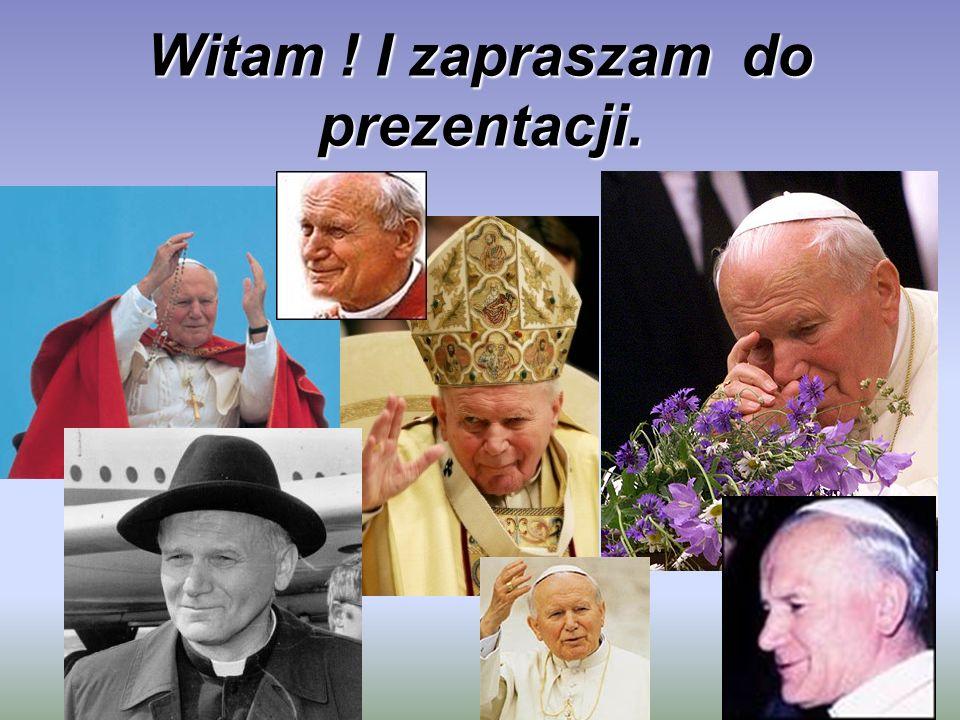 Na cześć Papieża .Najbliższa sercu Jana Pawła II była piosenka:,,Barka.