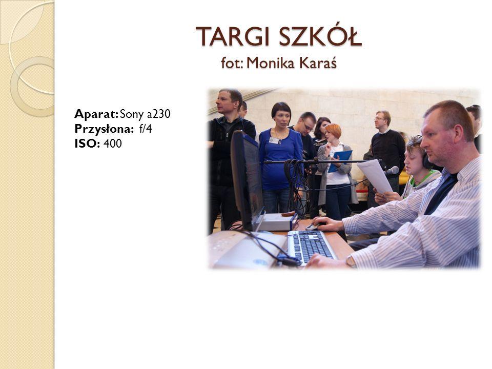 TARGI SZKÓŁ fot: Monika Karaś Aparat: Sony a230 Przysłona: f/4 ISO: 400