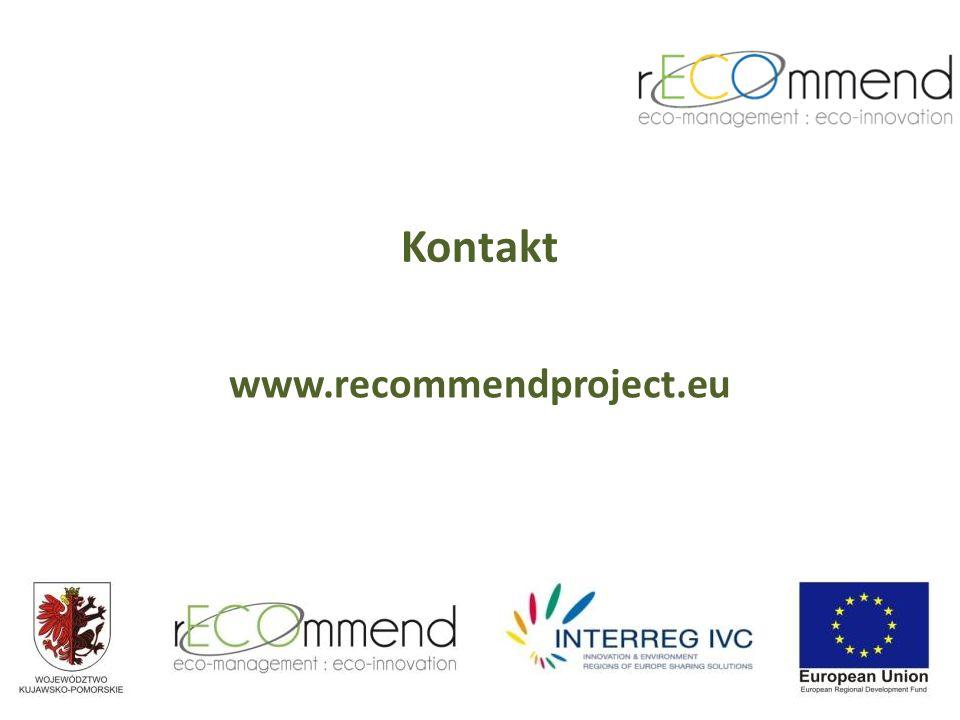 Kontakt www.recommendproject.eu