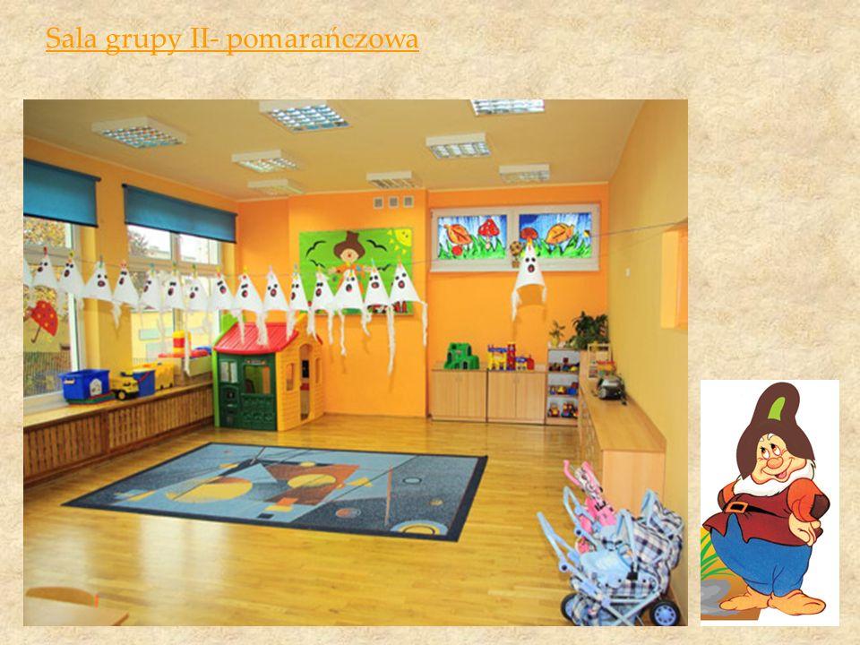 Sala grupy II- pomarańczowa