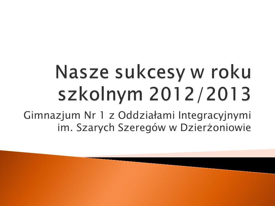 Gimnazjum Nr 1 z Oddziałami Integracyjnymi im. Szarych Szeregów w Dzierżoniowie