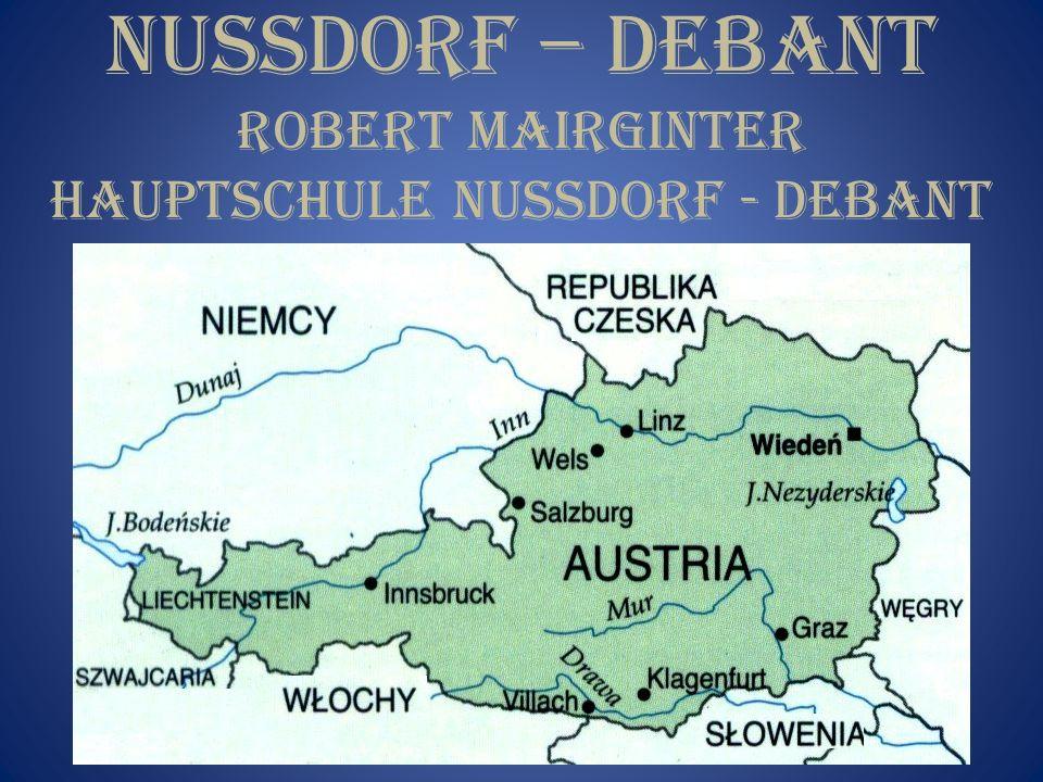 NUSSDORF – DEBANT ROBERT MAIRGINTER HAUPTSCHULE NUSSDORF - DEBANT