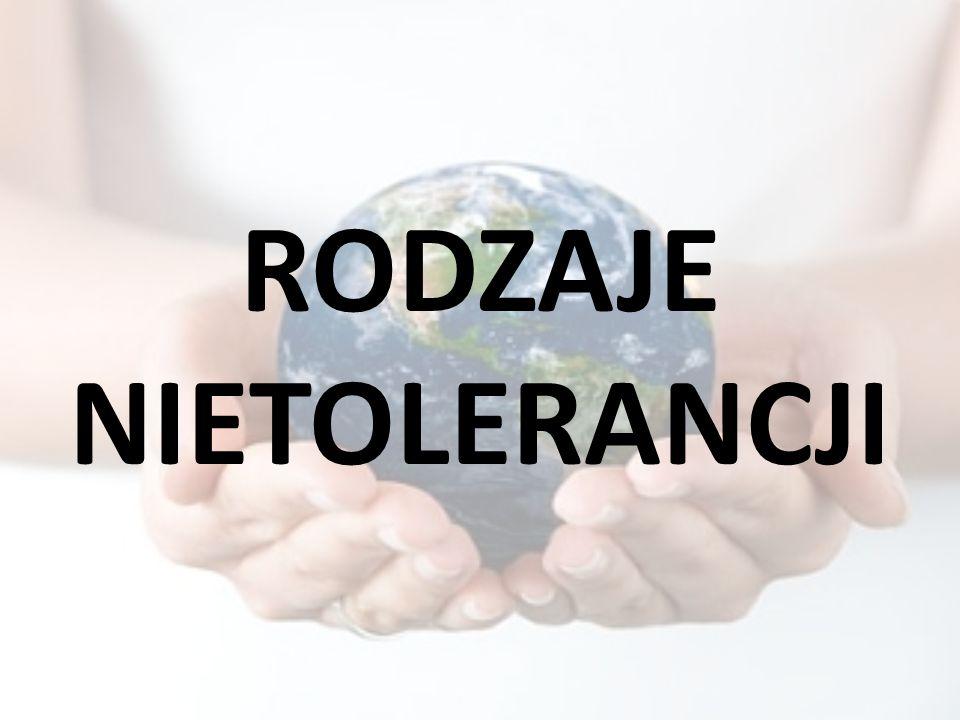 Co rozumiesz przez słowo tolerancja?
