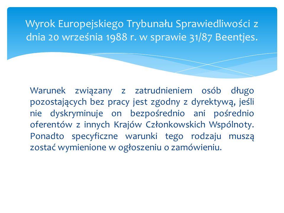 Wniosek DYREKTYWA PARLAMENTU EUROPEJSKIEGO I RADY w sprawie zamówień publicznych KOM(2011) 896 oraz Wniosek DYREKTYWA PARLAMENTU EUROPEJSKIEGO I RADY w sprawie udzielania zamówień przez podmioty działające w sektorach gospodarki wodnej, energetyki, transportu i usług pocztowych KOM(2011) 895, opublikowane przez KE 20.12.2011 r.