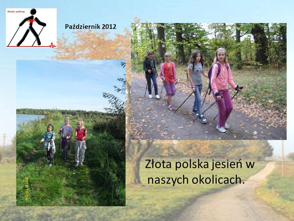 Złota polska jesień w naszych okolicach. Październik 2012