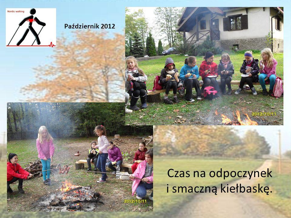 Czas na odpoczynek i smaczną kiełbaskę. Październik 2012