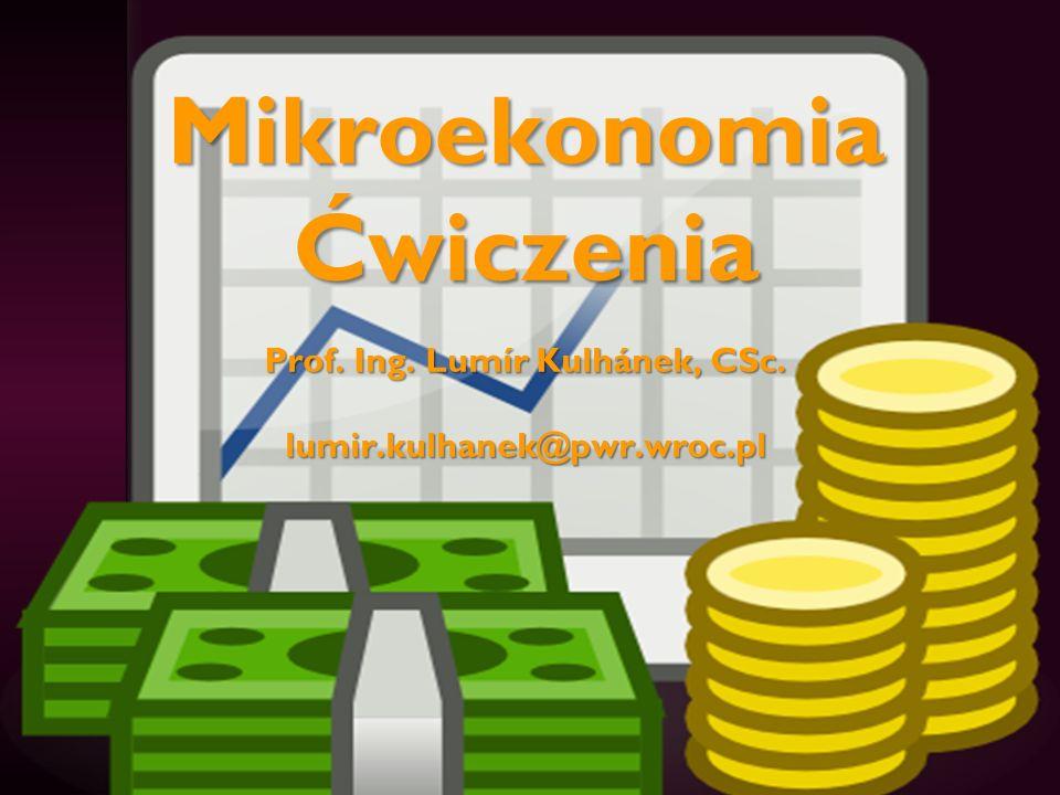 Program ćwiczeń 1.Wprowadzenie do ekonomii (1) 2.Wprowadzenie do ekonomii (2) 3.Rynek.
