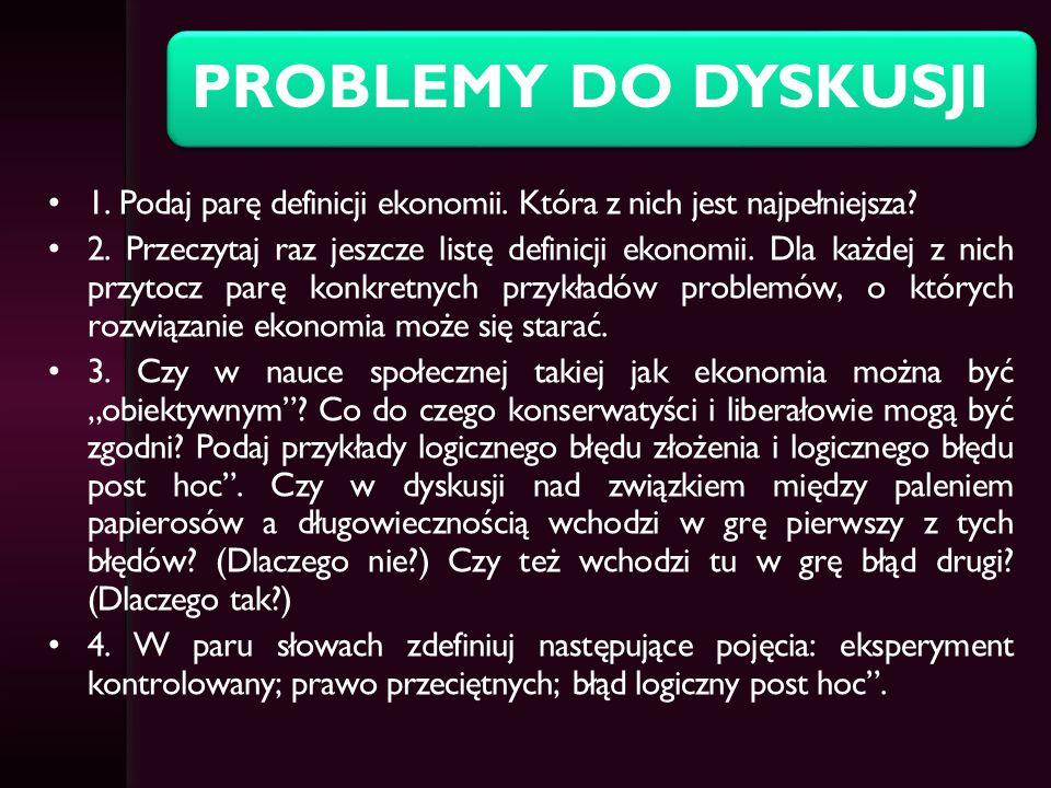 PROBLEMY DO DYSKUSJI 5.
