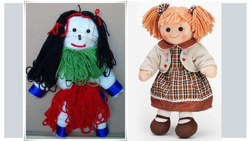 Kiedyś lalki nie miały wąskich talii, pięknych twarzy, zgrabnej sylwetki, makijażu, cudownych stroi.