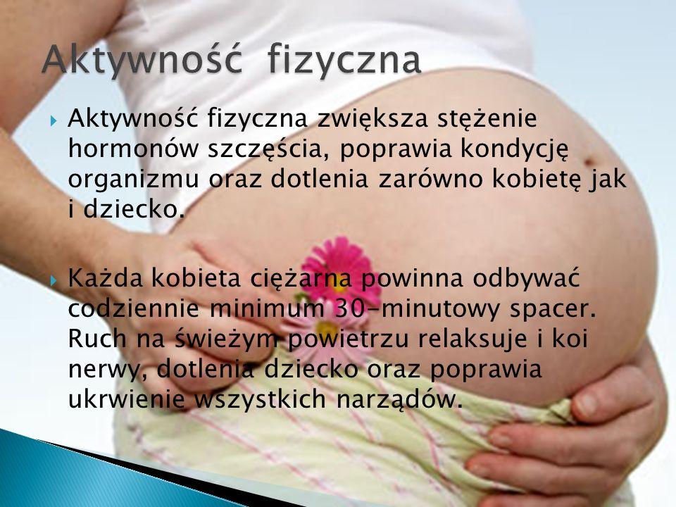 W Naszej szkole poznacie ćwiczenia najczęściej zalecane kobietom w ciąży, służące utrzymaniu prawidłowej postawy ciała, wpływające na napięcie mięśni, kondycję i na ogólne samopoczucie ćwiczącej.