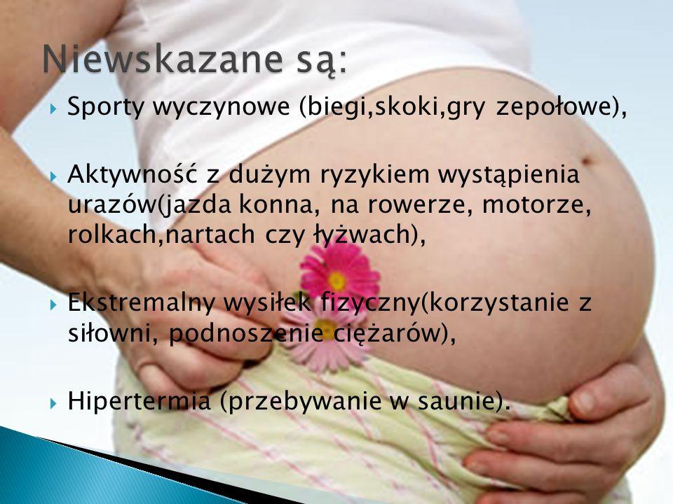 Przed rozpoczęciem ćwiczeń każda kobieta powinna skonsultować stan swojego zdrowia z położną lub lekarzem ginekologiem w celu wykluczenia przeciwwskazań do podjęcia treningu.