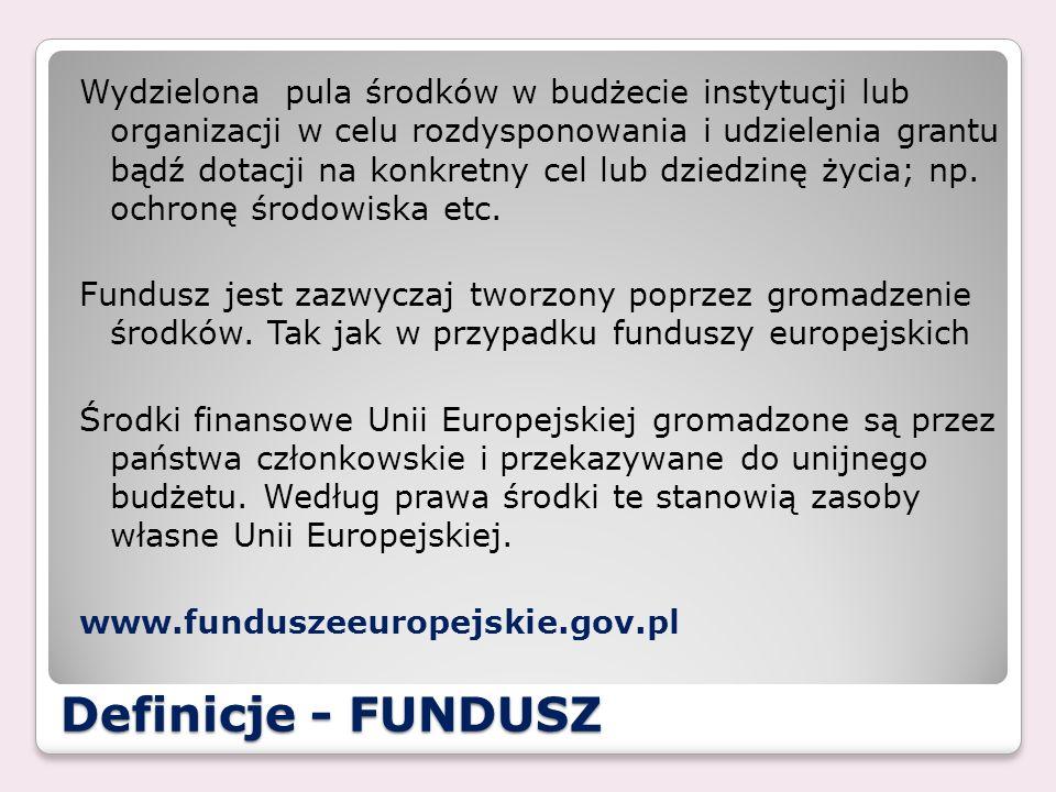 FUNDUSZE – Fundacja BZ WBK Działalność ; - Charytatywna, - Kulturalna, - Oświatowa i wychowawcza.