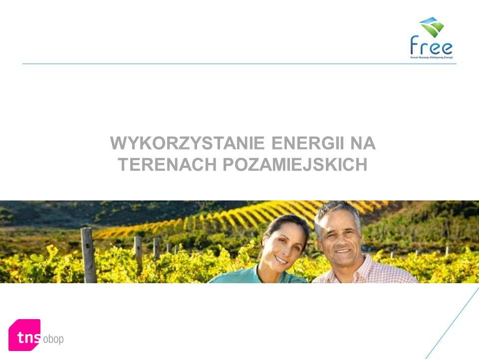 WYKORZYSTANIE ENERGII NA TERENACH POZAMIEJSKICH