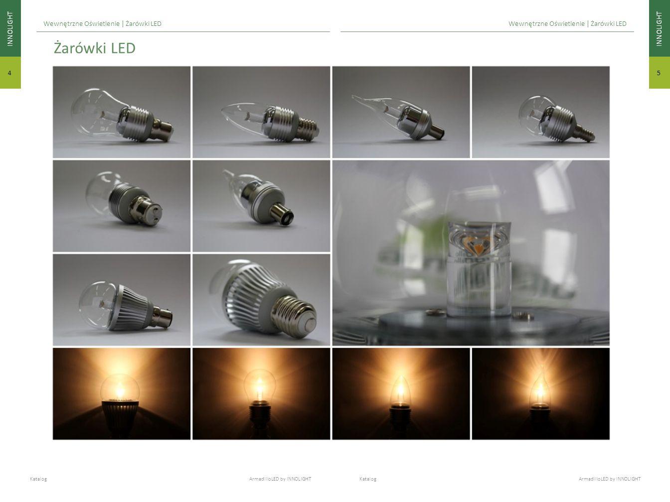 INNOLIGHT 5 4 Katalog ArmadilloLED by INNOLIGHT Wewnętrzne Oświetlenie | Żarówki LED Żarówki LED