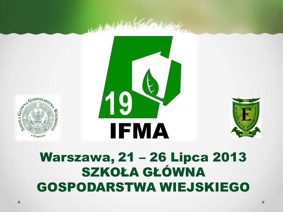 STRONA INTERNETOWA Szczegółowe informacje na temat organizacji 19 Kongresu IFMA znaleźć można na stronie internetowej: http://www.ifma19.org/