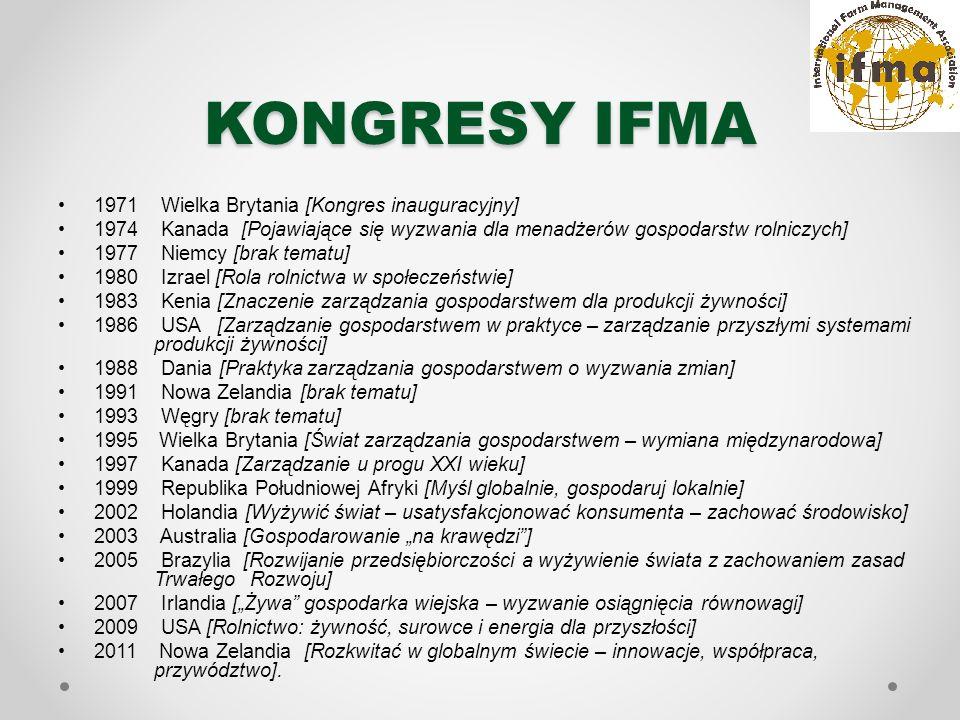 IFMA 19 POLSKA Transformacja rolnictwa - między polityką, nauką a konsumentem (Transforming agriculture - between policy, science and the consumer)