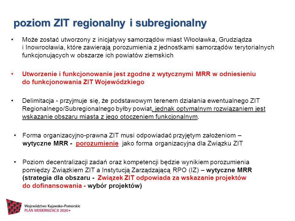 Może zostać utworzony z inicjatywy samorządów miast Włocławka, Grudziądza i Inowrocławia, które zawierają porozumienia z jednostkami samorządów teryto